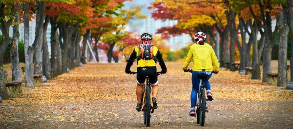 Fahrradfahren im Herbst: 5 Tipps für die nasskalte Jahreszeit