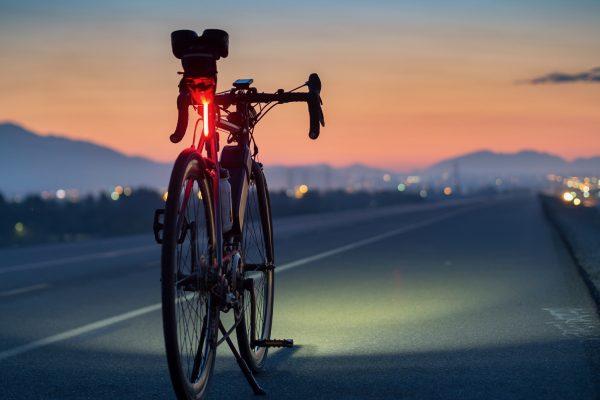 Fahrradbeleuchtung und Reflektoren